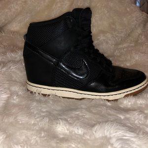 NIKE Hightop Wedge Sneakers